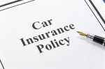 Document of Car Insurance Policy for background